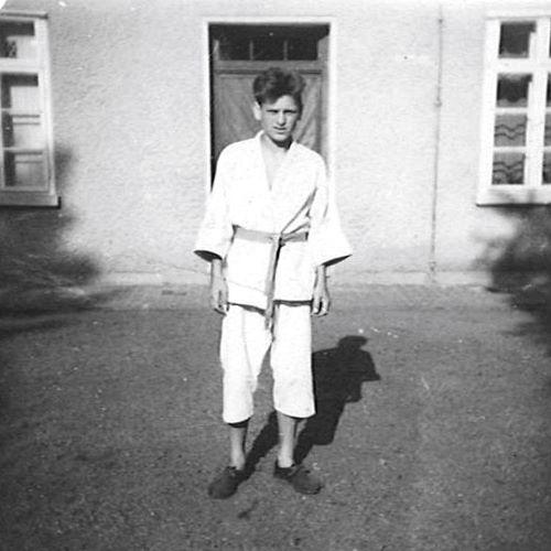 12歳から空手を習い始めた、カール・ベンクス