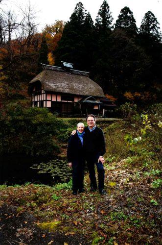 竹所集落に再生したベンクス夫妻の終の棲家「双鶴庵」(茅葺屋根の古民家)