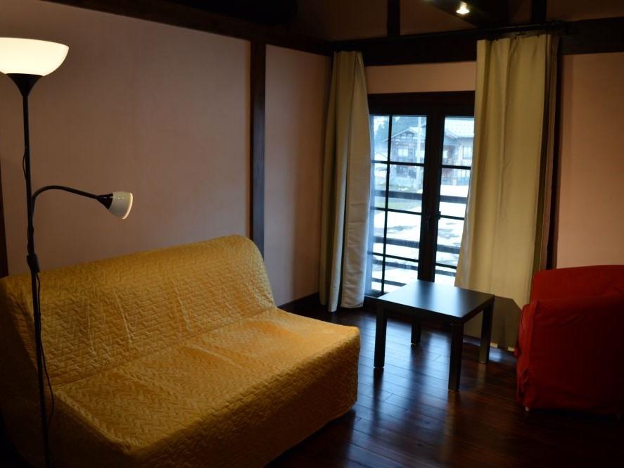 カールベンクス古民家ゲストハウス2階の寝室